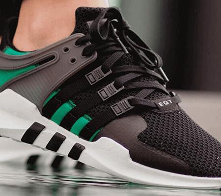 adidas EQT grey laces matched shoelaces -