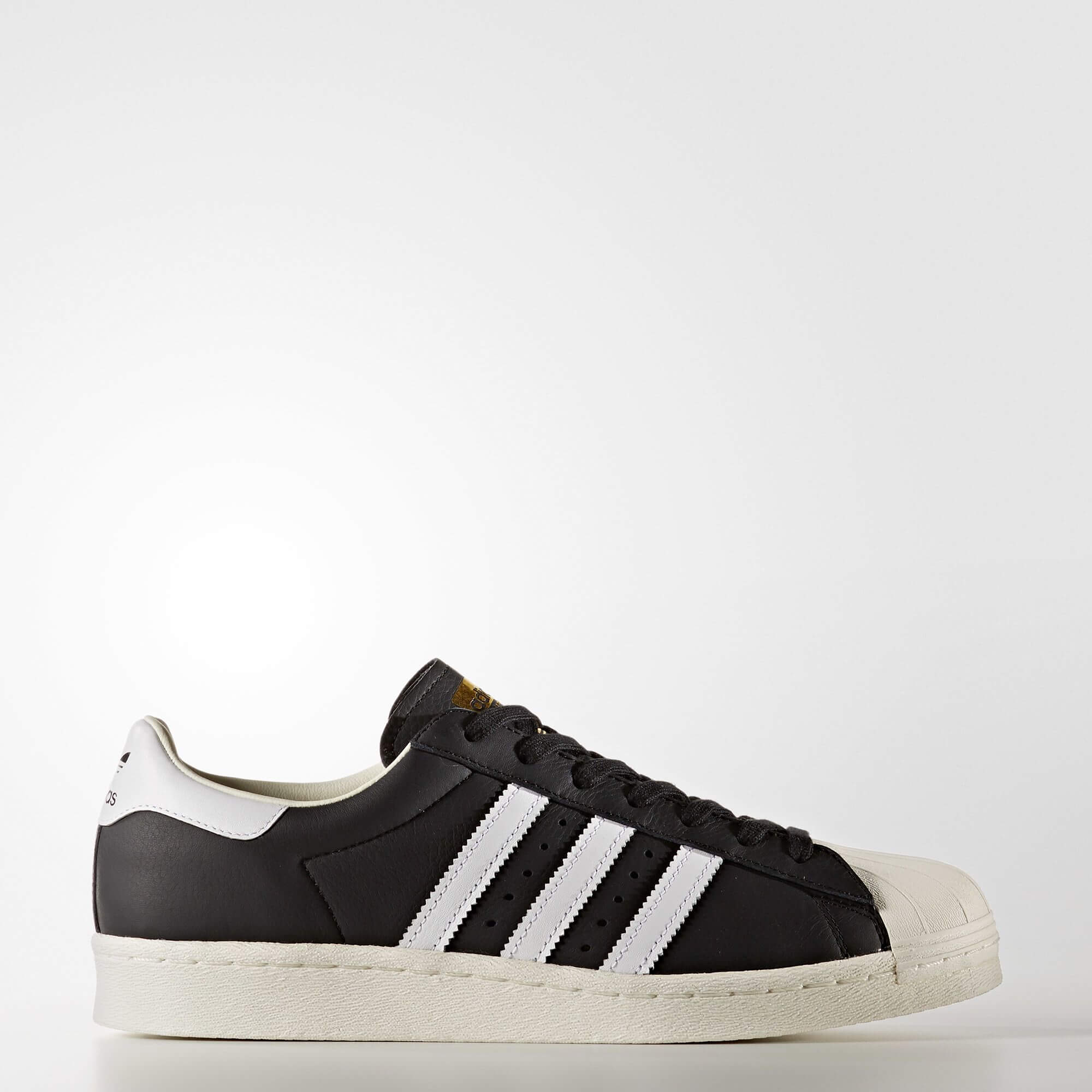 Adidas Superstar black shoe laces