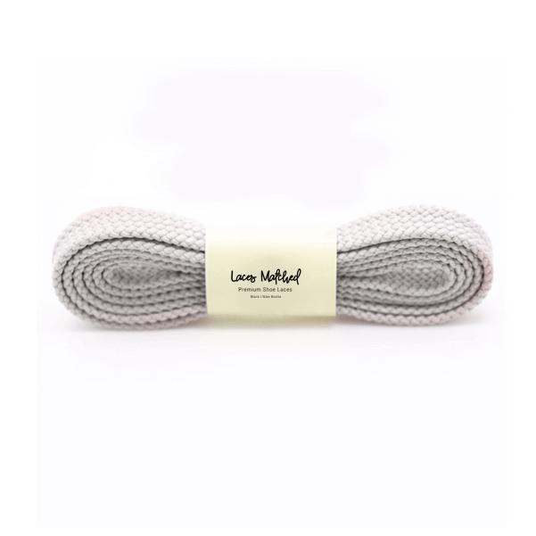 100cm grey shoelaces