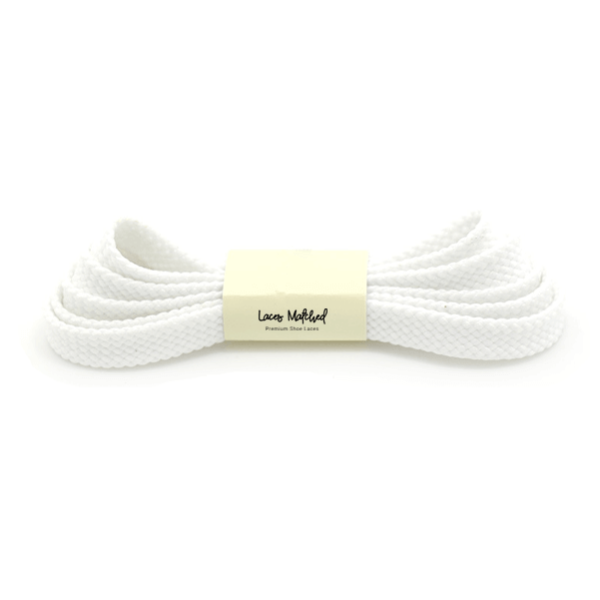 adidas shoe laces white