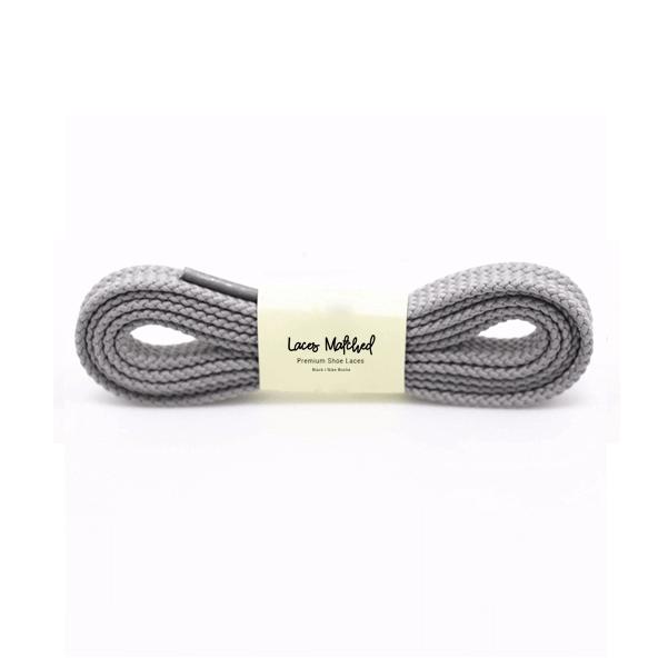 Dark Grey 100cm Shoelaces