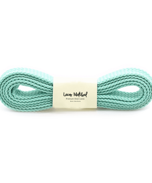 Mint Green 120cm shoelaces