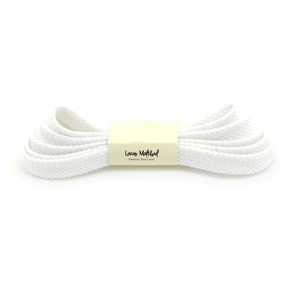 White-Flat-100cm-shoelaces