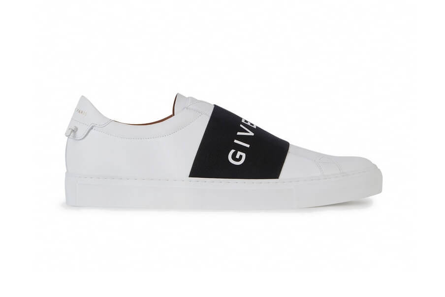 Givenchy follows the bold branding trainer trend