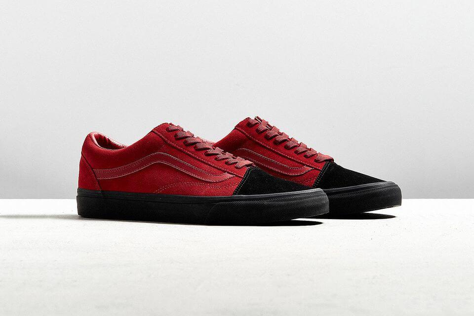 Vans-Old-skool-red-black