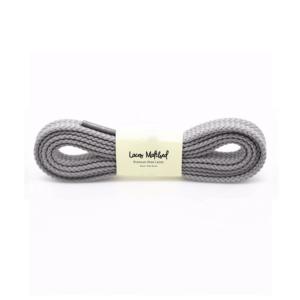 New Balance 574 Dark Grey shoelaces
