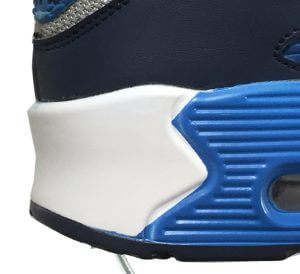 Fake Air Max 90 Heel Detailing